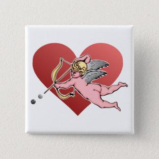 バレンタイン 缶バッジ