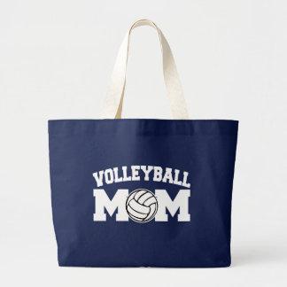 バレーボールのお母さんのバッグ ラージトートバッグ