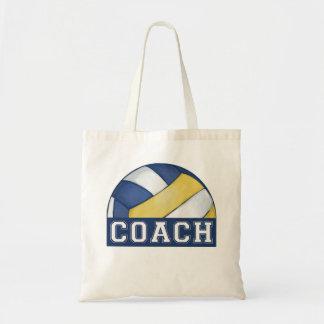 バレーボールのコーチ トートバッグ