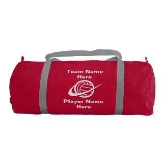 バレーボールの体育館のバッグ ジムダッフルバッグ