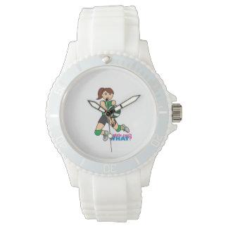 バレーボールの女の子 腕時計