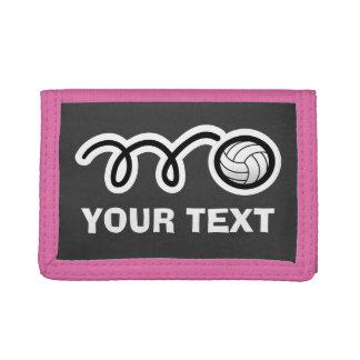 バレーボールの札入れおよび財布| Personalizable