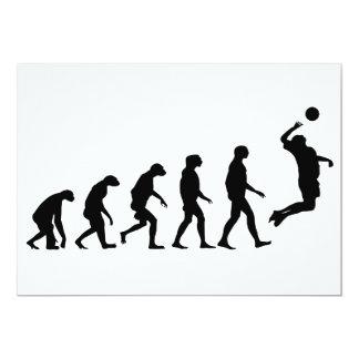 バレーボールの進化 カード