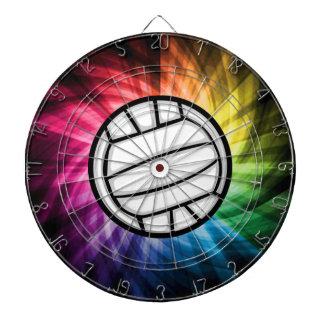 バレーボール; スペクトル ダーツボード