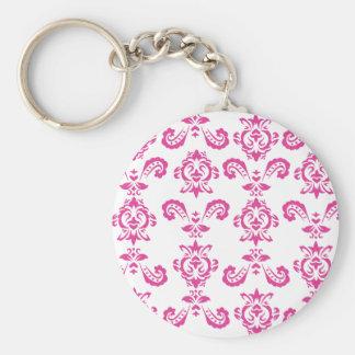 バロック式のピンクのKeychain キーホルダー