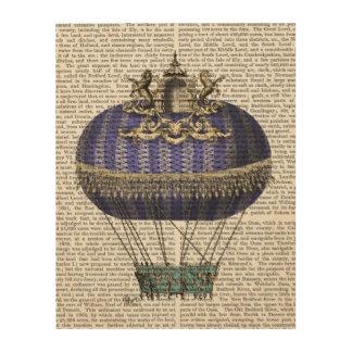 バロック式のファンタジーの気球 ウッドウォールアート