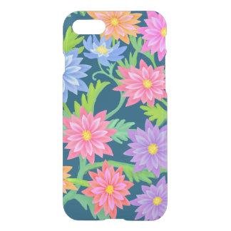 バロック式の花の庭のiPhone 7の澄んな場合 iPhone 8/7 ケース