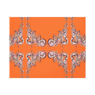 バロック式パターン キャンバスプリント