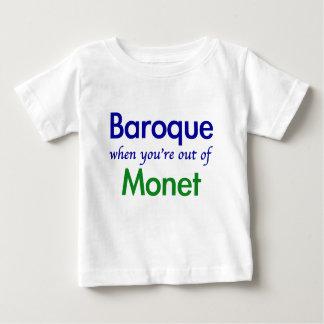 バロック式- Monet ベビーTシャツ
