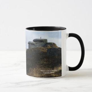 バンカーヒルのWWIIの眺望の燃料庫 マグカップ