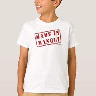 バンギで作られる Tシャツ