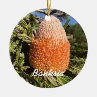 バンクシアの花 セラミックオーナメント