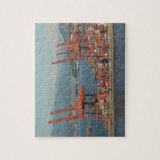 バンクーバーの港のパズル ジグソーパズル