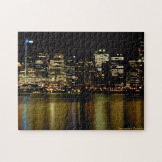バンクーバーの記念品のパズルのバンクーバーの都市景観のギフト ジグソーパズル