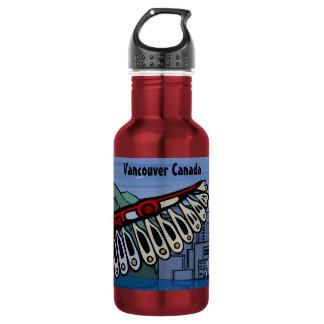 バンクーバー名前入りなバンクーバー ウォーターボトル