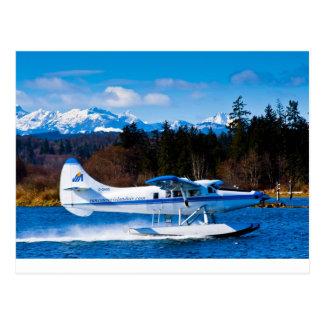 バンクーバー島の水上機 ポストカード