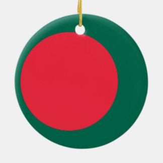 バングラデシュのオーナメントの旗 セラミックオーナメント