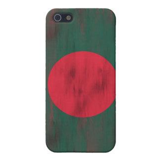 バングラデシュの動揺してなパングラデシュの旗 iPhone 5 COVER