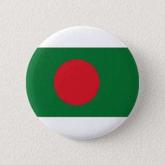 バングラデシュの国旗 5.7CM 丸型バッジ
