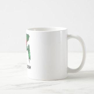 バングラデシュの地図 コーヒーマグカップ