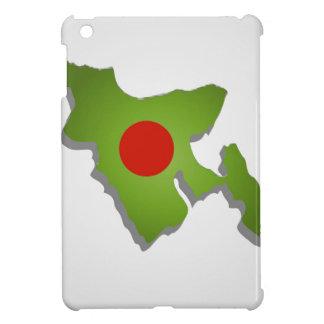 バングラデシュの地図 iPad MINIケース