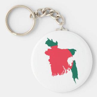 バングラデシュの地図BD キーホルダー