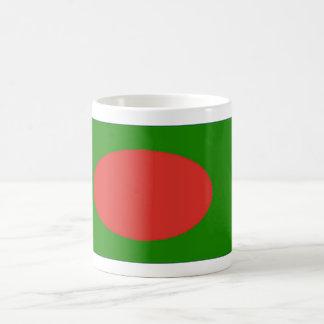 バングラデシュの旗のコーヒー・マグ コーヒーマグカップ
