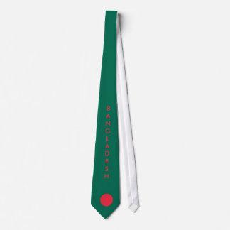 バングラデシュの旗のタイをカスタマイズ オリジナルネクタイ