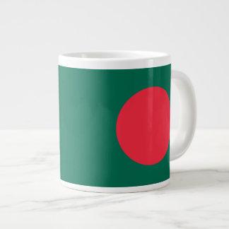 バングラデシュの旗のマグ ジャンボコーヒーマグカップ