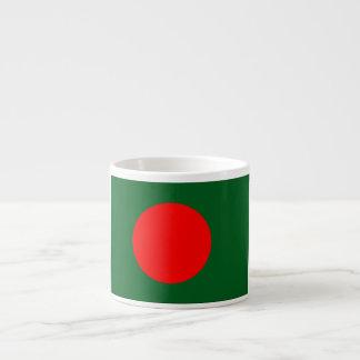バングラデシュの旗 エスプレッソカップ