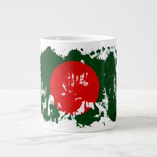 バングラデシュの旗 ジャンボコーヒーマグカップ