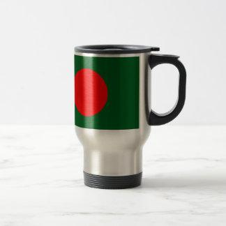 バングラデシュの旗 トラベルマグ