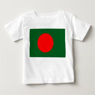 バングラデシュの旗 ベビーTシャツ