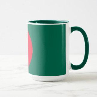 バングラデシュの旗 マグカップ