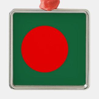 バングラデシュの旗 メタルオーナメント
