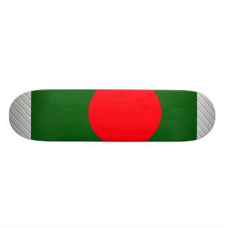 バングラデシュの旗 18.7CM ミニスケートボードデッキ
