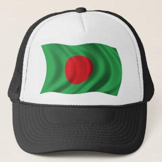 バングラデシュの波状の旗 キャップ