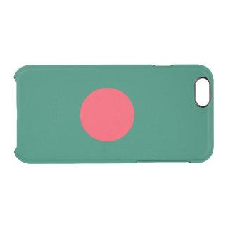 バングラデシュの澄んなiPhoneの場合の旗 クリアiPhone 6/6Sケース