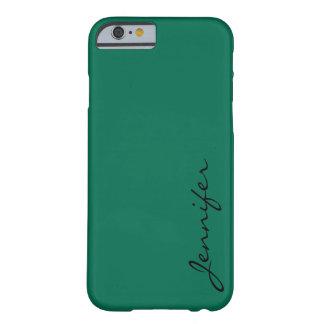 バングラデシュの緑色の背景 BARELY THERE iPhone 6 ケース