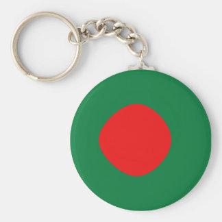 バングラデシュFisheyeの旗Keychain キーホルダー