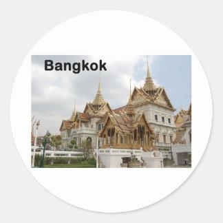 バンコクの壮大な宮殿(St.K) ラウンドシール
