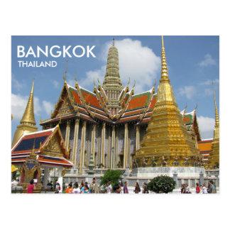 バンコクタイWat Phra Kaewのエメラルド仏 ポストカード