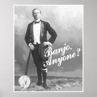 バンジョーだれでもか。 ポスター