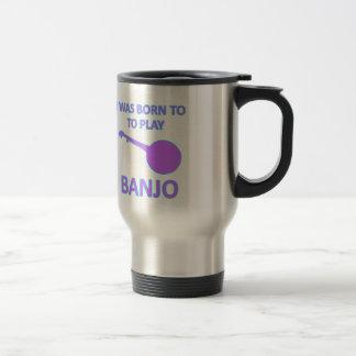 バンジョーのデザイン トラベルマグ