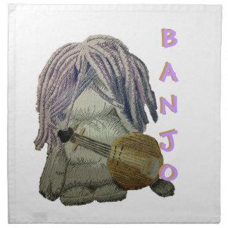 バンジョーのナプキン ナプキンクロス