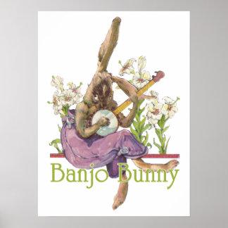 バンジョーのバニーポスター ポスター