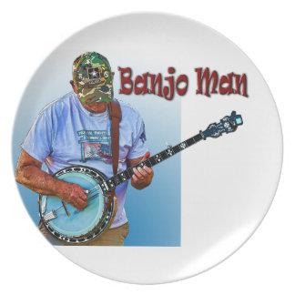 バンジョーの人 プレート