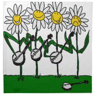 バンジョーの花 ナプキンクロス