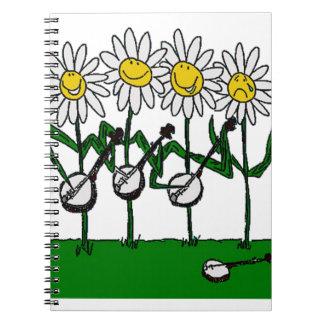 バンジョーの花 ノートブック