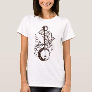 バンジョーのTシャツの女性のTシャツ Tシャツ
